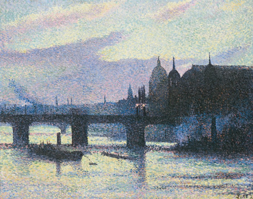 Maximilien Luce, View of London (Cannon Street) (Vue de Londres [Cannon Street]) 1893