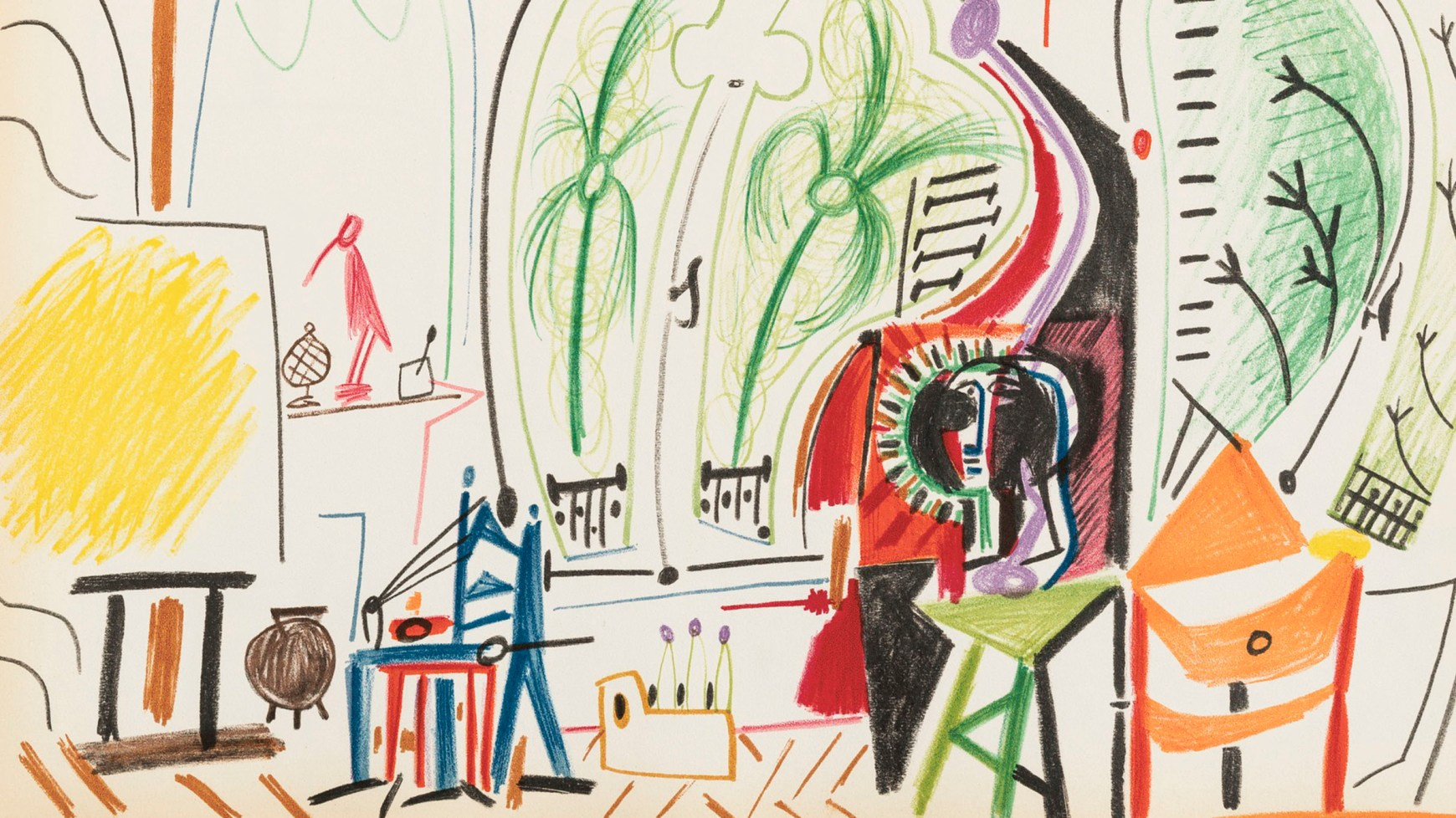 Picassos bright enticing sketchbook