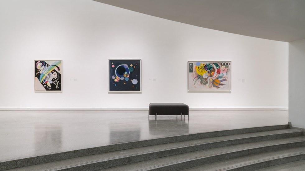 Installation View Visionaries Creating A Modern Guggenheim Solomon R Guggenheim Museum
