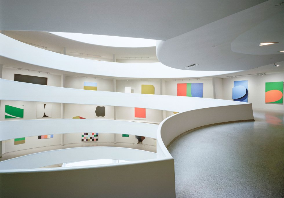 Installation View Ellsworth Kelly A Retrospective Solomon R Guggenheim Museum