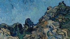 Détail: Vincent van Gogh, Montagnes à Saint-Rémy (Montagnes à Saint-Rémy), juillet 1889