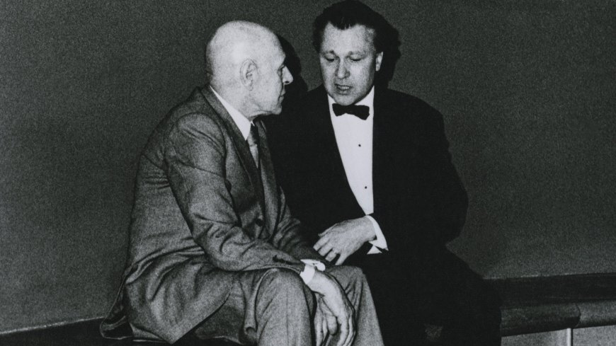 Archival Audio Of A Former Guggenheim Director Sharing Personal