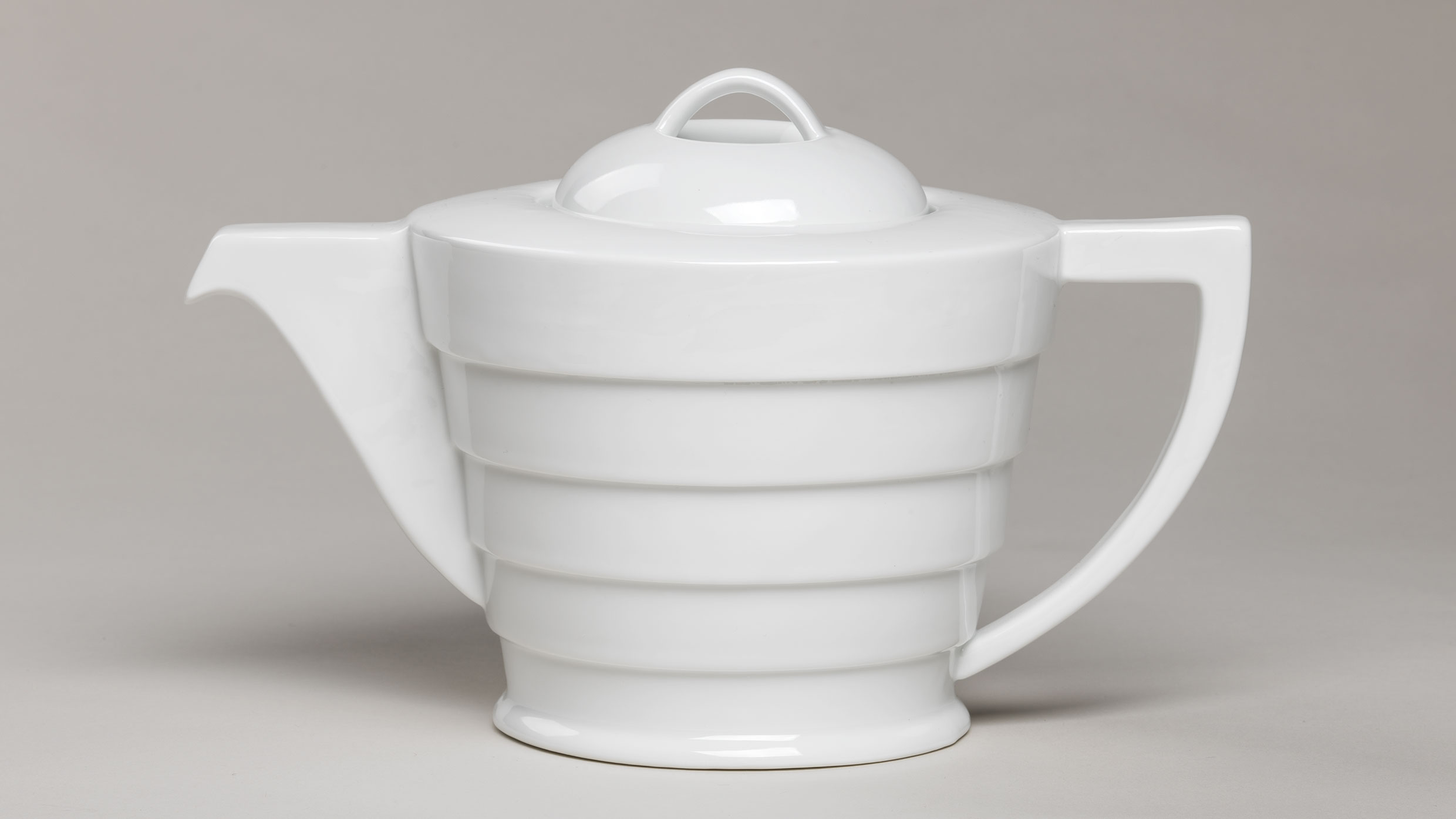 This teapot is part of a set soon to be offered in the Guggenheim Store. Photo: Kristopher McKay