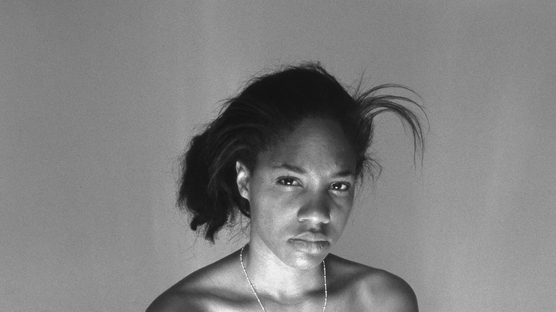 Detail: LaToya Ruby Frazier, Self-Portrait (October 7th 9:30 am), 2008. Gelatin silver print19 7/16 x 15 3/8 inches (49.4 x 39.1 cm), edition 2/8. Solomon R. Guggenheim Museum, New YorkGift, Stephen Javaras. 20152015.3 © LaToya Ruby Frazier