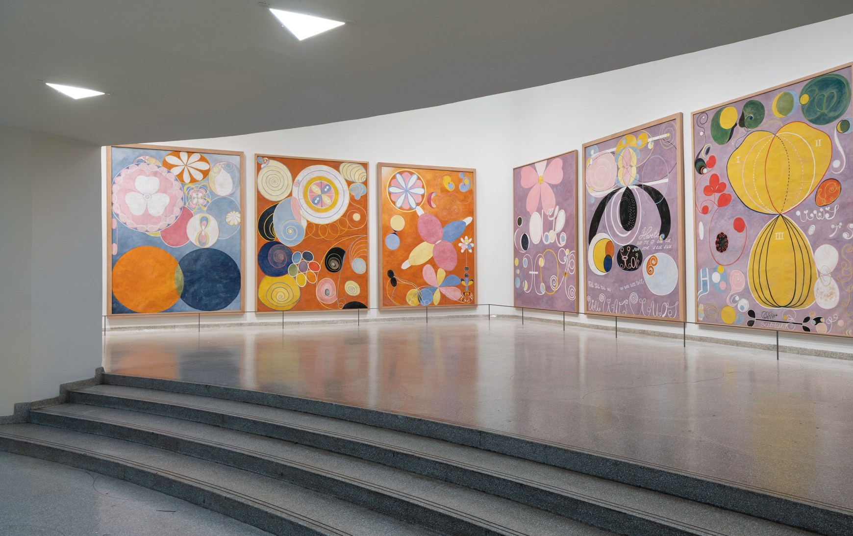 Guggenheim Museum Presents Hilma Af Klint Paintings For The