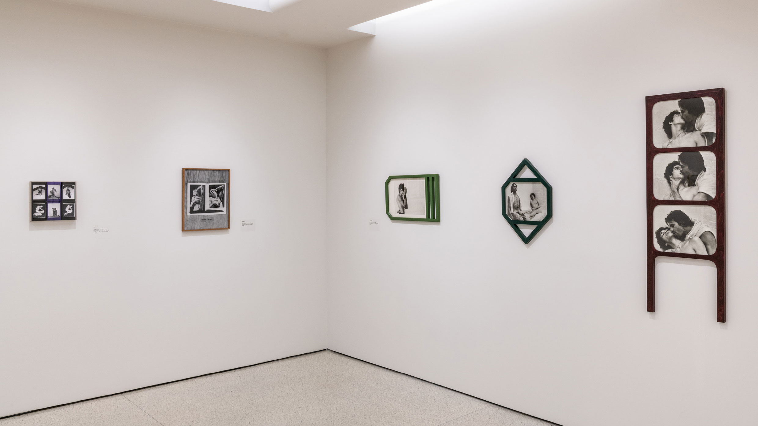 Installation view, Implicit Tensions: Mapplethorpe Now, Solomon R. Guggenheim Museum, New York, January 25–July 10, 2019. Photo: David Heald