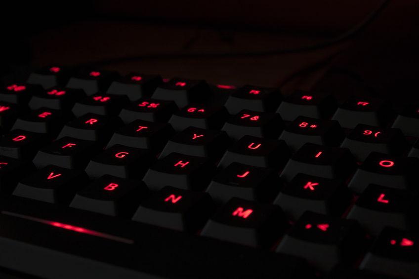 teclado preto