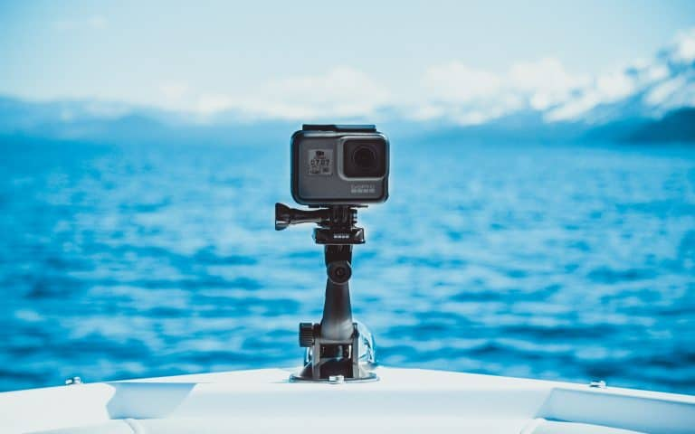 GoPro in the sea