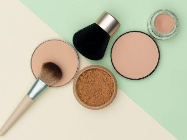 brushes and powder