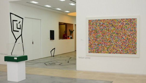 Galeria I. Nelson Leirner e Corpos Informáticos. expo 6 A-PLAY. ECCO