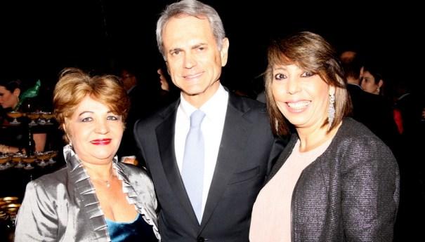 Jornalista Luzia Câmara, Empresário Paulo Octávio, Cidália Varela