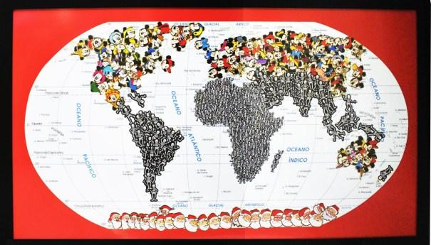 Mapa da série Assim é... se lhe parece. art. Nelson Leirner. expo 6 A-PLAY.[ENTRE ARTISTAS]III.ECCO