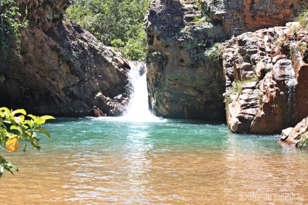 cachoeira brasilia poço azul Guia BSB.net