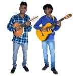Almeyron e Fernandinho no Boulevard Shopping