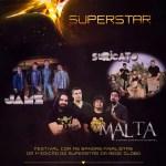 Festival Superstar com: Suricato, Jamz e Malta