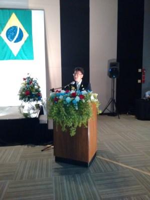 Autoridades e convidados na data nacional da Tailândia - Guia BSB.net