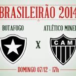 Botafogo e Atlético-MG contam com apoio da torcida