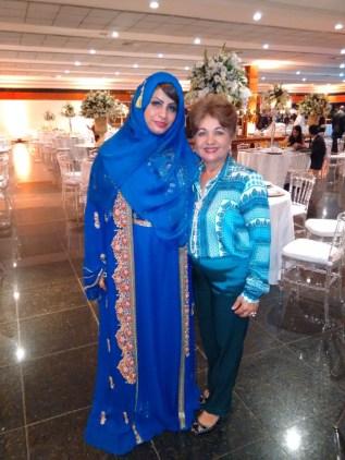 Luzia Câmara, Diretora do Portal Guia BSB.net e Sra Embaixatriz de Omã