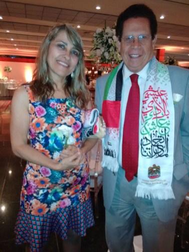 Dr. Francisco Chiaratto e Esposa