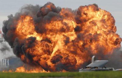 explosão avião acidente - Guia BSB.net