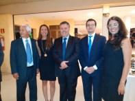Srs. Embaixadores e Tatiana da Suécia, prestigiou evento.