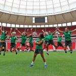 Estrelas do futebol feminino em Brasília