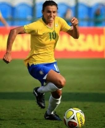 Jogadora Martha do Brasil
