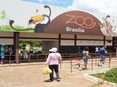 Domingo, 07/12, comemoração do aniversário do Zoológico de Brasília
