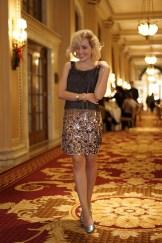 Angelica no Hotel Willard