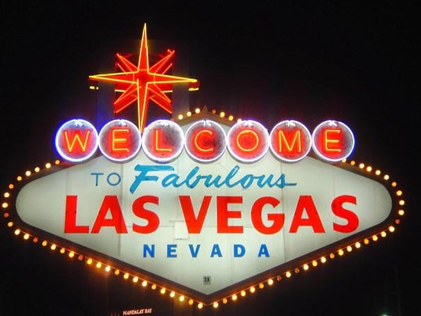 Welcome Las Vegas, você esta em Las Vegas