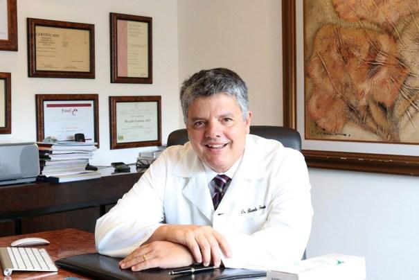 Dermatologista Ricardo Fenelon  - Crédito Hermínio Oliveira