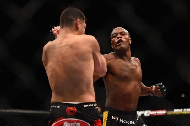Anderson superou Diaz por decisão unânime dos jurados no último fim de semana (Foto: Getty Images)