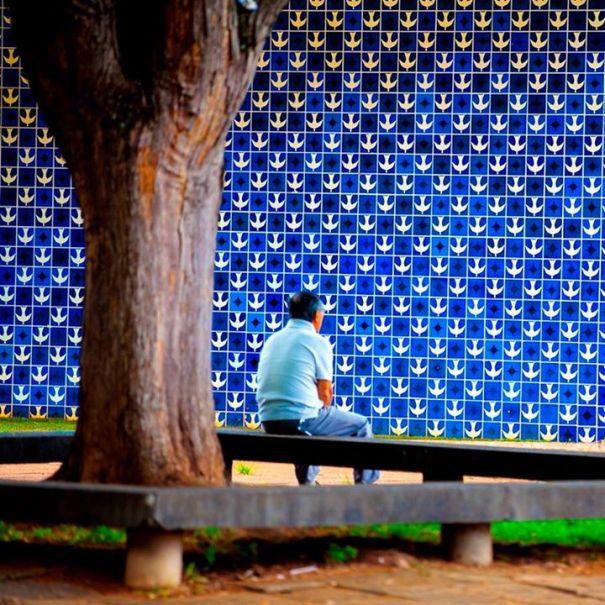 Obras de Athos Bulcão ficam expostas até a penúltima semana de março - Foto: Bruno Pinheiro/Setur-DF