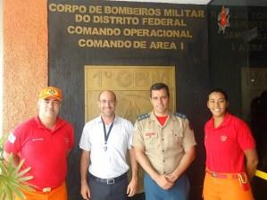 Visita técnica da ASCOP/CBMDF às Nações Unidas em Brasília - Foto: ASCOP/CBMDF