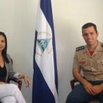 Embaixadora da Nicarágua recebe ASCOP/CBMDF