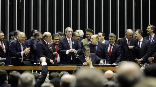 Eduardo Cunha é eleito o novo presidente da Câmara - Foto: PMDB/Divulgação/Flickr