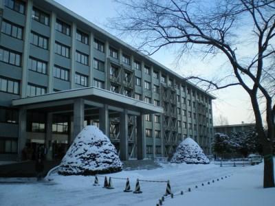 Universidade de Hokkaido está situada no centro da cidade de Sapporo, no Japão.