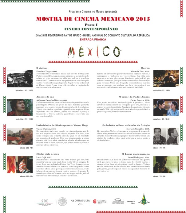 Mostra de Cinema Mexicano 2015