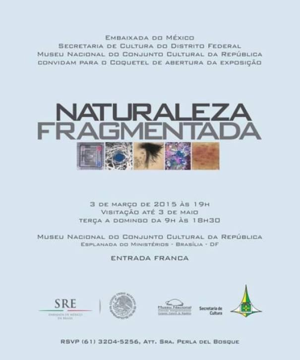 Exposição Naturaleza Fragmentada