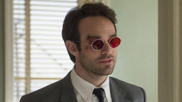 O inglês Charlie Cox vive o protagonista da série, Matt Murdock - Foto: Internet
