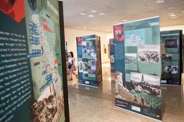 Exposição A Primeira Guerra Mundial 1914-1918 - Foto: CLDF