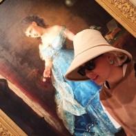 Retrato em National Gallery