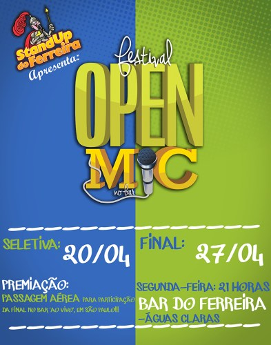Festival Open Mic do Stand Up do Ferreira