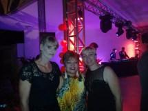 Empresárias da Colônia Holandesa de Unaí presentes na festa do Dia do Rei