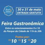Feira Gastronômica Brasil Sabor ocorre neste final de semana no Parque da Cidade