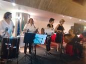 A banda Toque de Salto animou a festa