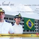 Termina nesta sexta-feira a inscrição para a Escola Naval