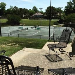 Resort KingsMill - Quadra de tênis