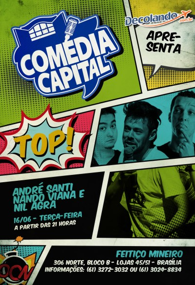 Stand Up Comedy. comedia_capital