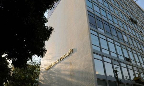 09/09/2011. Crédito: Valério Ayres/CB/D.A Press. Brasil. Brasília - DF. Fachada do prédio do Ministério da Educação - MEC, na Esplanada dos Ministérios.